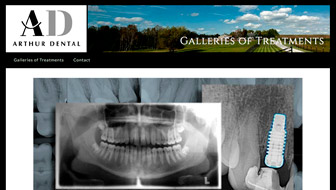 Arthur Dental Website