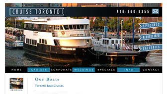 Cruise Toronto Website