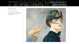Jody Hewgill Illustration Website