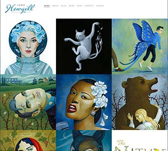 Jody Hewgill Illustration Website Books page