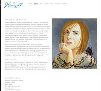 Jody Hewgill Illustration Website News