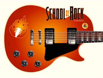 Toronto School of Rock home page