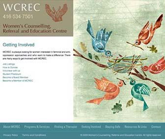 WCREC Website Getting Involved