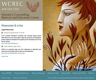 WCREC Website resources